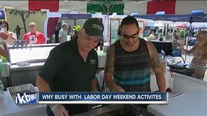 Western New York busy with Labor Day Weekend activities ...