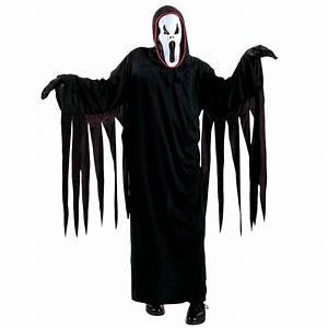 Kostüm Gespenst Kind : kinder scream kost m halloween geist schwarz l 158cm 11 13 jahre 16 49 ~ Frokenaadalensverden.com Haus und Dekorationen