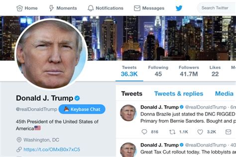 Twitter Employee Deactivates Trump Account on Last Day