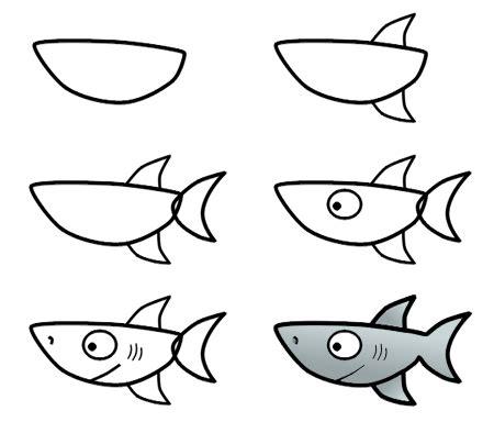 drawing  cartoon shark