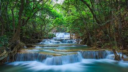 Nature Waterfall Desktop Pc Tablet River Thailand