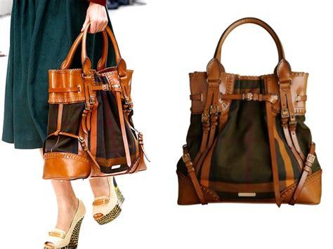 Burberry Prorsum Spring 2012 Handbags