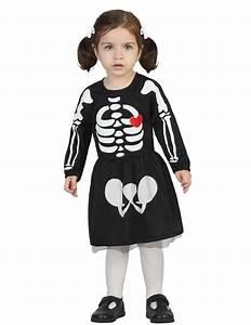 Deguisement Halloween Bebe : d guisement b b squelette fille halloween deguise toi ~ Melissatoandfro.com Idées de Décoration