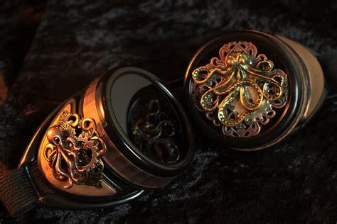 cthulhu goggles  kraken eyepiece