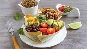 Bol A Salade : salade mexicaine dans un bol recettes iga tortillas ~ Teatrodelosmanantiales.com Idées de Décoration