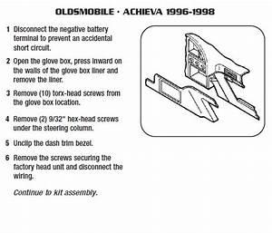 2001 Lexus Es300 Installation Parts  Harness  Wires  Kits