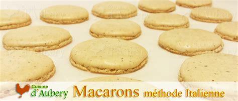 recette du macaron version meringue italienne recette de