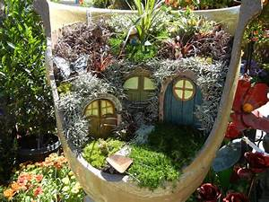 The second half who loves fairy gardens for Fairy garden images
