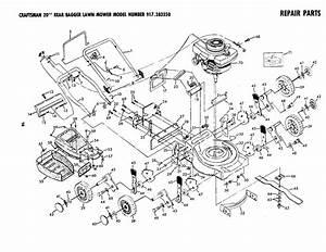 Craftsman Craftsman Lawn Mower Parts