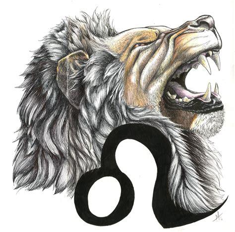 leo tattoo images designs