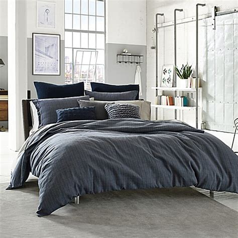 kenneth cole duvet cover kenneth cole reaction home douglas reversible duvet cover