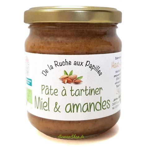 Tel est le secret des agriculteurs passionnés arte. Pâte à tartiner BIO miel & amandes du Haut-Jura - 240g