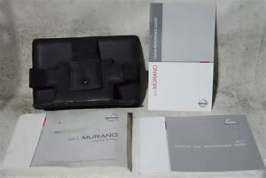 Nissan Murano 2011 Factory Original Oem Owner Manual User