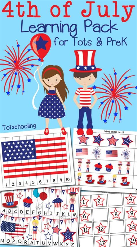 free 4th of july pack for toddlers amp preschoolers free 752 | cap 56 569x1024