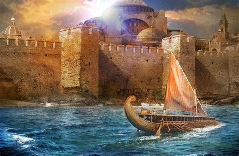 Byzantine Military The Siege Of Constantinople