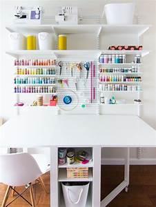 Créer Son Bureau Ikea : cr er un coin bureau atelier diy 10 photos d ~ Melissatoandfro.com Idées de Décoration