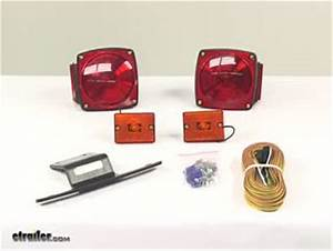 Submersible  Under 80 U0026quot  Trailer Light Kit With 25 U0026 39  Wiring