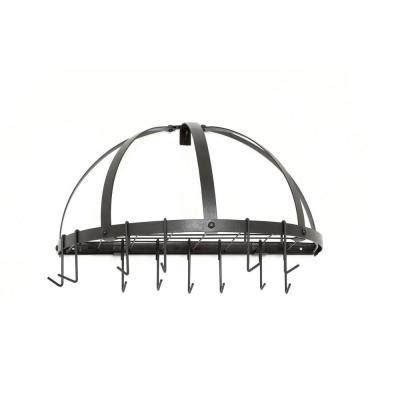 home depot pot rack 12 in x 11 in x 22 in graphite pot rack 055gu the