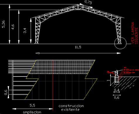 metal truss dwg block  autocad designs cad