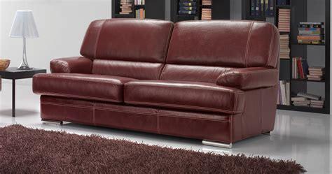 canapé 3places vasto salon 3 2 cuir buffle personnalisable sur univers du