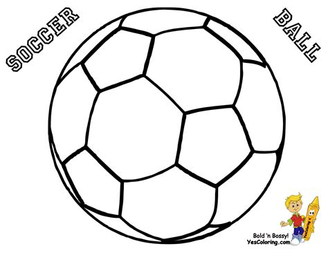 Coloring Balls by Soccer Colouring Clipart Best