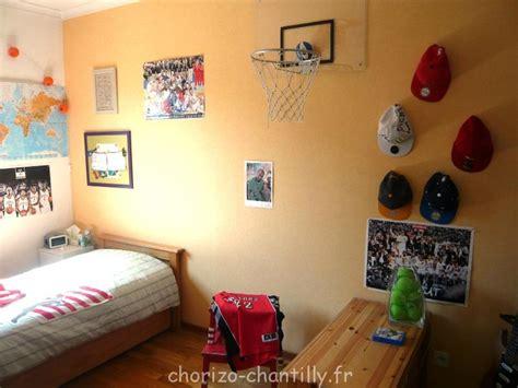 panier de basket de chambre relooking chambre ado avant après chorizo chantilly