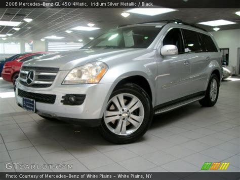 Finished in black over black leather. Iridium Silver Metallic - 2008 Mercedes-Benz GL 450 4Matic ...