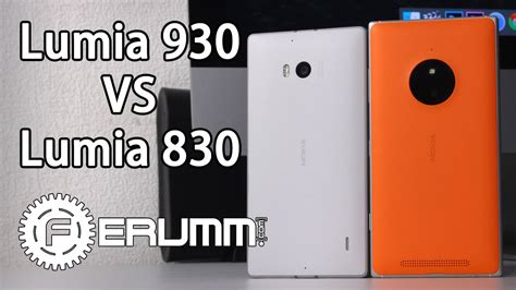 сравнение nokia lumia 830 и nokia lumia 930 что лучше и почему полный обзор от ferumm