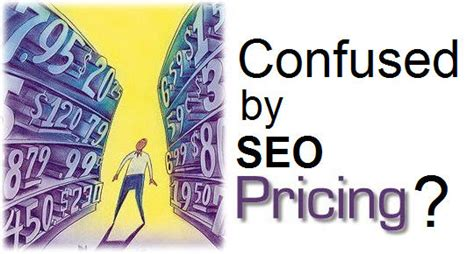 seo pricing how an expert seo company may arrange pricing