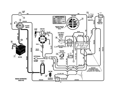 Wiring Schematic For Craftsman Lawn Tractor