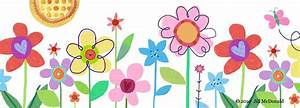Flower borders, Clip art and Schools on Pinterest