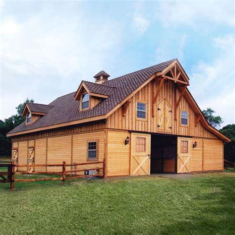 barn style shed kits barn pros post frame barn kit buildings homes