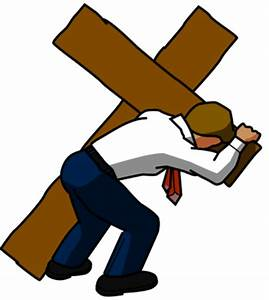 Image: Businessman Carrying Cross | Cross Image ...