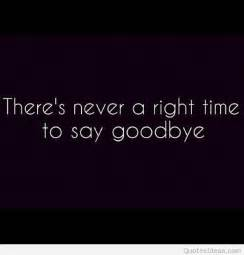 Sad Saying Goodbye Quotes
