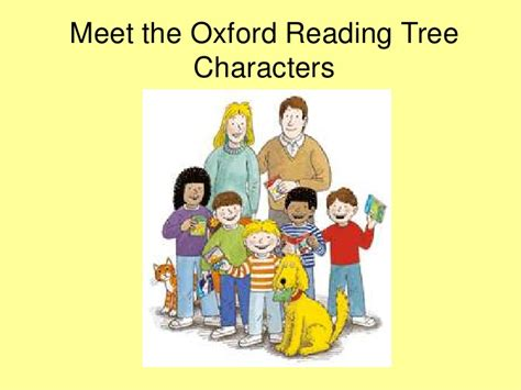 oxford reading tree characters