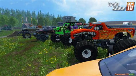 monster trucks video monster truck fans v1 0 for fs 15 download fs 15 mods