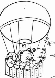 hot air balloons free colouring pages With hotairschematic
