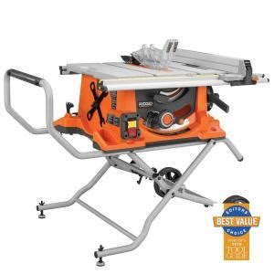 home depot tile saw ridgid ridgid 10 in portable tile saw with laser r4010 reviews