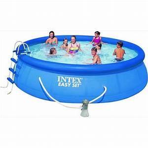 Easy Set Pool : intex easy set pool 457 x 107cm destination beach ~ Orissabook.com Haus und Dekorationen