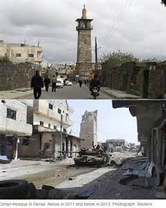 Syria War Before and After