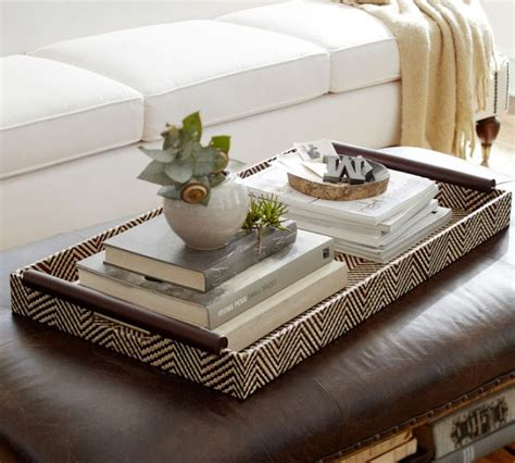 trays for ottomans everything looks better with a tray driven by decor