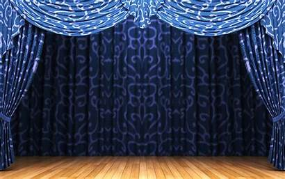 Curtain Stage Wallpapers Resolution Backgrounds Sahne Curtains