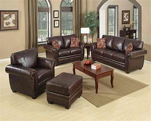 Living room decorating ideas brown leather sofa modern house for Decorating with leather sofa