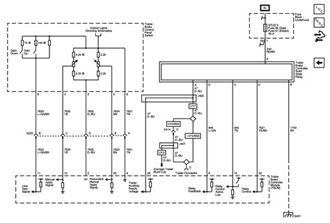 2010 Silverado Trailer Wiring Diagram by Wondering If One Of The Gm Tech S Experienced In Electrial