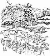 Coloring Adult Cabins Snowy Pages Books Cabin Colouring Crayons Architecture Crayon sketch template