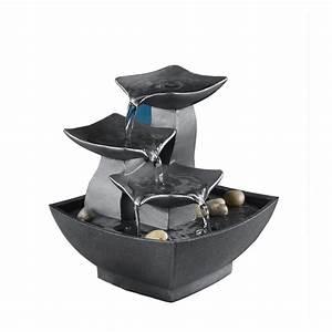 Tabletop water fountain pump fountain design ideas for Best tabletop water fountains ideas