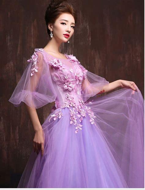 Retro Floral Formal Prom Dress