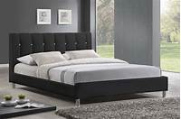 modern platform bed Refined Leather Elite Platform Bed Austin Texas WSIVIN