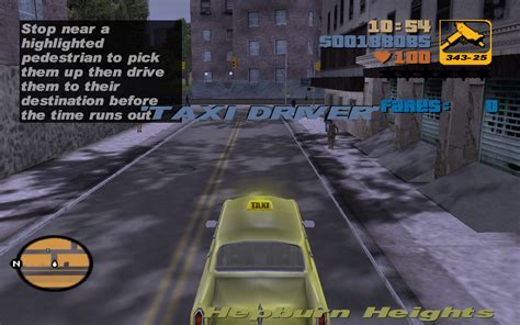 Taxi Driver Gta Wiki The Grand Theft Auto Wiki Gta Iv