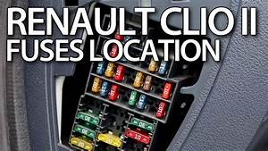 Where Are Fuses And Relays In Renault Clio Ii    Thalia  Symbol  Dacia Logan